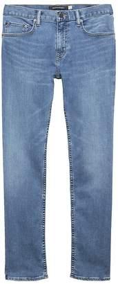 Banana Republic Slim Rapid Movement Denim Light Wash Jean