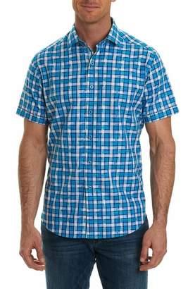 Robert Graham Tangier Classic Fit Print Sport Shirt