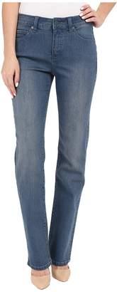Miraclebody Jeans Six-Pocket Abby Straight Leg Jeans in Bainbridge Blue Women's Jeans