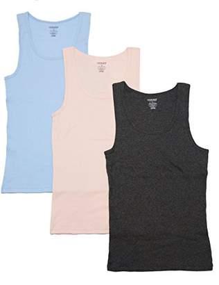 Cherokee 3 Piece Ladies Cotton Tank Underwear