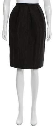 Dolce & Gabbana Knee-Length Zip-Up Skirt