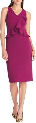 Rachel Roy Ruffle Sheath Dress