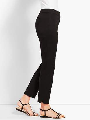 Talbots Textured Sateen Ankle Pant