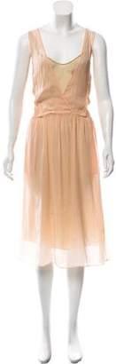 Giada Forte Sleeveless Midi Dress