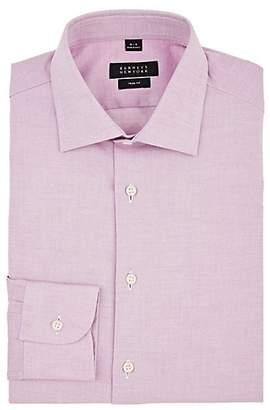 Barneys New York Men's Cotton Oxford Dress Shirt - Red
