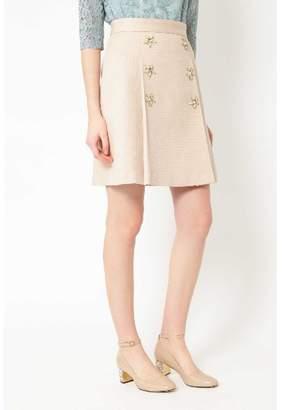 Jill Stuart (ジル スチュアート) - ジルスチュアート ◆フラン台形スカート