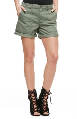 Women's Sanctuary Army Shorts $79 thestylecure.com