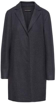 Banana Republic Italian Melton Unlined Car Coat