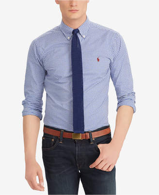 Polo Ralph Lauren Men's Classic Fit Cotton Gingham Shirt