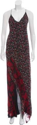 R 13 Silk Maxi Dress