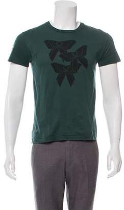 Christian Dior 2008 Origami Graphic T-Shirt