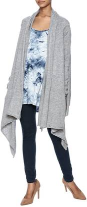 Wish Gray Jersey Wrap $66 thestylecure.com