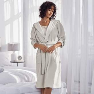 The White Company Short Lightweight Velour Robe 455419206