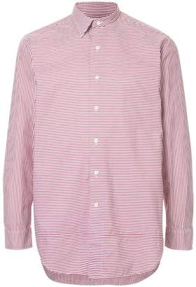 Kent & Curwen striped fitted shirt