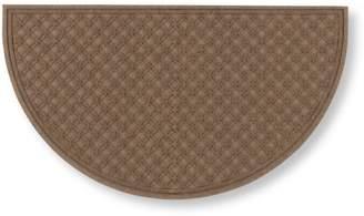 L.L. Bean L.L.Bean Waterhog Doormat, Recycled Crescent Locked Circles