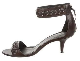 ac71d60cbf3e Givenchy Chain-Link Ankle Strap Sandals