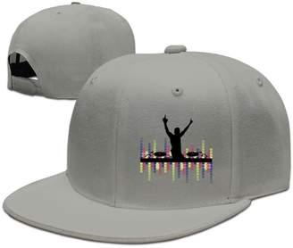 eea5c7e3cf3 DIYoDGG Lights DJ Sound Activated Light up Rave Unisex Snapback Hat Cool  Flat Caps New