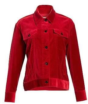 Rag & Bone Rag& Bone Rag& Bone Women's Oversized Velvet Jacket