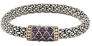 John Hardy Amethyst Lava Bracelet
