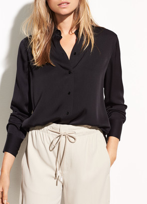 9820030fecab0 Stretch Silk Blouse - ShopStyle