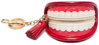 Anya Hindmarch teeth key ring purse