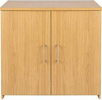 Walton Argos Home 2 Door Cupboard - Oak Effect