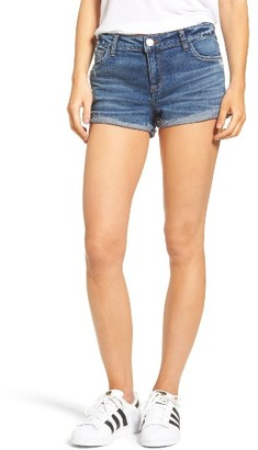 Women's Bp. Cuffed Boyfriend Shorts $49 thestylecure.com