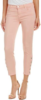 J Brand Suvi Distressed Pink Utility Pant