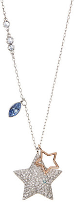 Swarovski Classic Duo Crystal Necklace $119 thestylecure.com