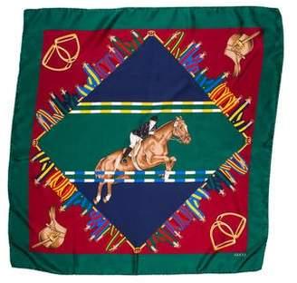 Gucci Equestrian Silk Scarf