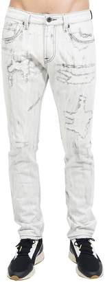 Cult of Individuality Rockabilly Slim Distressed Jeans