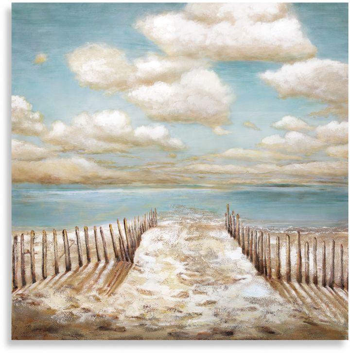 "Bed Bath & Beyond""Drifting"" Canvas Print"