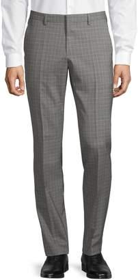 HUGO Check Wool Pants