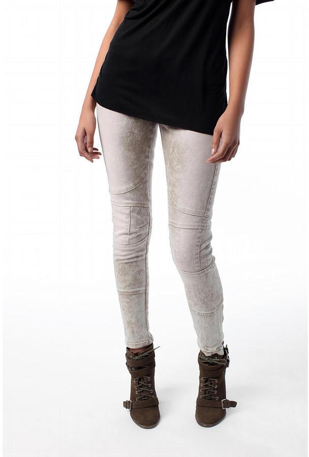 Blank Grey Poopon Moto Jean