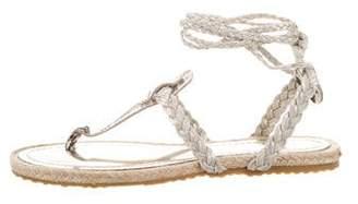 Jimmy Choo Snake Skin Sandals