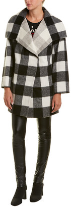 French Connection Jackie Wool-Blend Coat