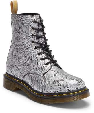 Dr. Martens 1460 Pascal Metallic Snake Embossed Boot
