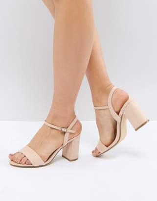 Office Modesty Block Heeled Sandals