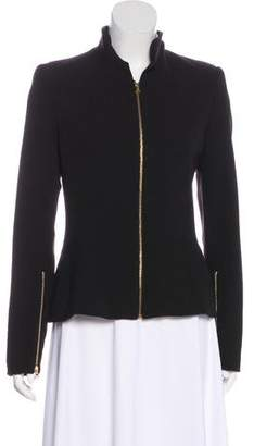L'Agence Structured Zip-Up Jacket