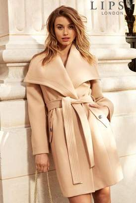 Next Lipsy Belted Wrap Coat - 6
