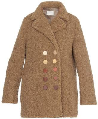 Marco De Vincenzo Double Breasted Coat