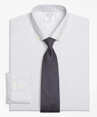 Brooks Brothers Regent Fitted Dress Shirt, Non-Iron Narrow Split Stripe
