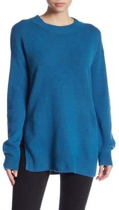 Abound Mock Neck Tunic Sweater