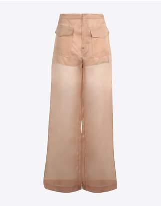 Maison Margiela Silk Organza Trousers