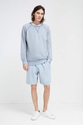 French Connection Acid Wash Crew Neck Sweatshirt
