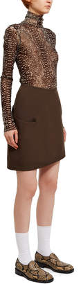 Lemaire Twisted Short Skirt