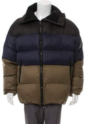 Public School Colorblock Down Puffer Coat