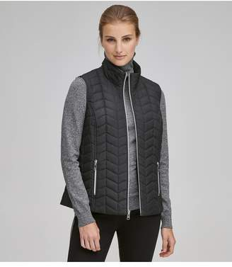 Andrew Marc Reese Quilted Synthetic Down Vest