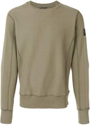 Belstaff panelled sweatshirt