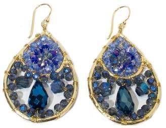 Ananda Handcrafted Crystal Earrings